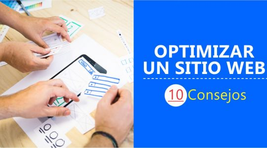 Optimización de un sitio web