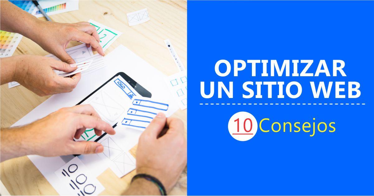 Optimización de un sitio web