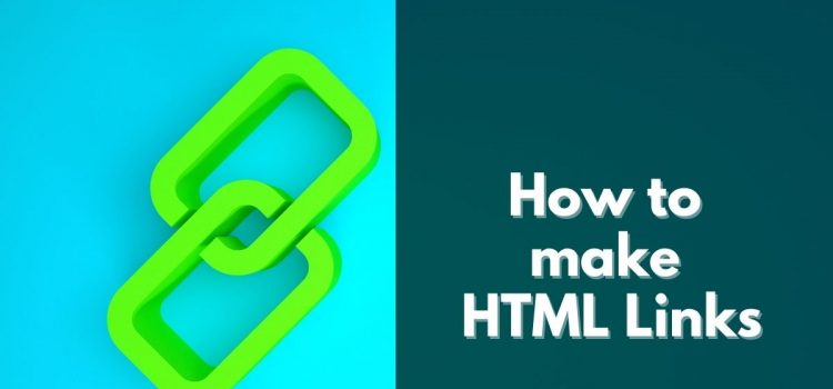 How to make HTML Links