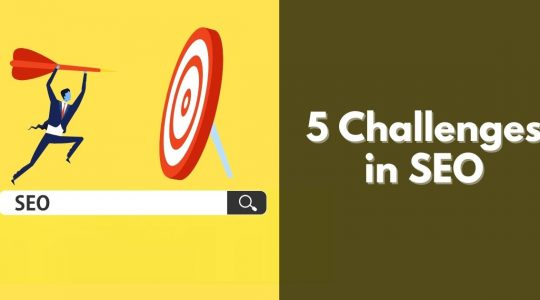 5 Challenges in SEO